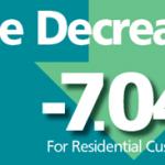 rate decrease