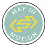 May in Motion graphic