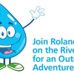 Roland on the River Powercache Mascot
