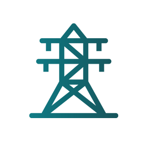 icon of transmission line