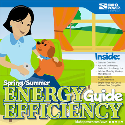 cover of spring summer energy efficiency guide 2019