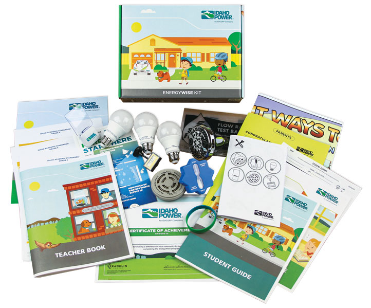 image of Idaho Power's student energy kit