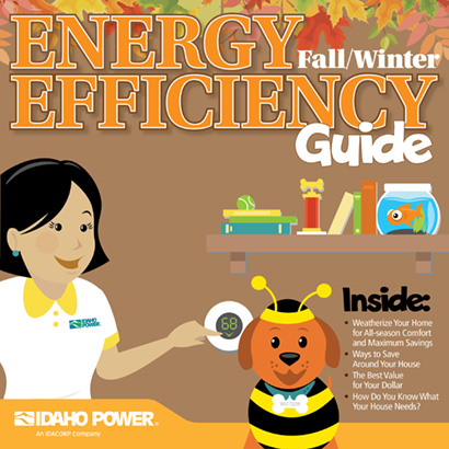 cover of fall/winter energy efficiency guide 2019