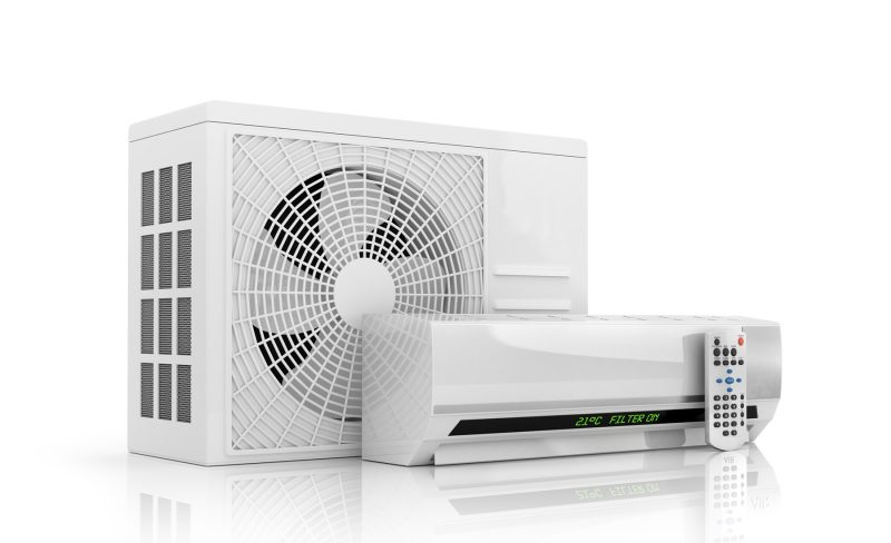 Image of a ductless heat pump