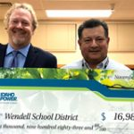 wendell schools recognized for energy efficiency efforts