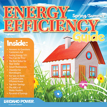 cover of fall/winter energy efficiency guide 2020