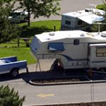 RVs and campers at Hells Canyon Park