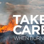 Take care with fire around power poles.