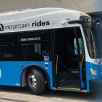 Mountain Stages bus recently converted to electric